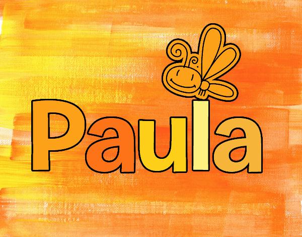 Dibujo Paula pintado por lina200714