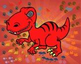 Dinosaurio velociraptor