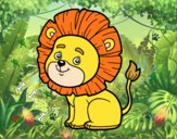 León joven