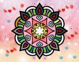 Dibujo Mandala vida vegetal pintado por sophiairr