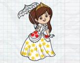 Princesa con parasol