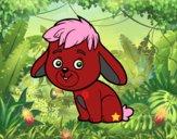 Un conejo de campo