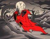 Dibujo Fantasma de la muerte pintado por nicolesalo