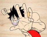 Pelea Luffy