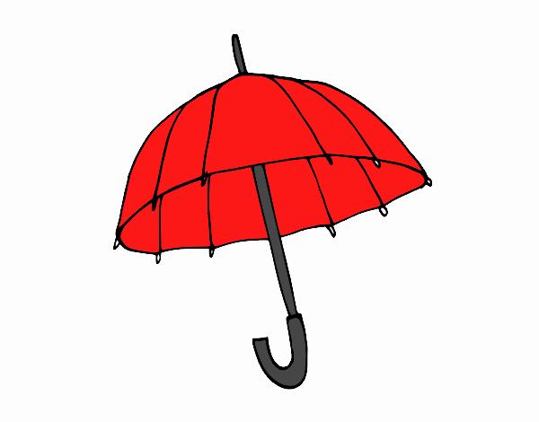 Dibujo Un paraguas pintado por Juice