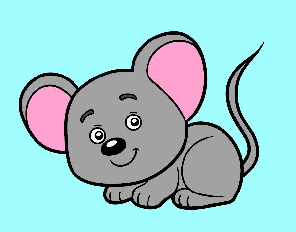 Dibujo Un ratoncito pintado por gav007a