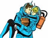 Astronautas enamorados