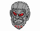 Cara de Hombre lobo