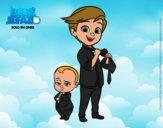 El Bebé Jefazo y Tim Templeton