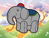 Elefante de trapo