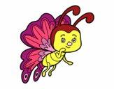 Mariposa coqueta