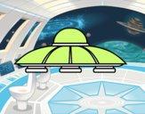 Platillo volante alien