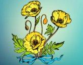 Dibujo Unas amapolas pintado por BERNORI