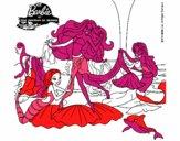 Barbie con sirenas