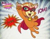 Barbie superprincesa - Mascota