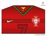 Camiseta del mundial de fútbol 2014 de Portugal