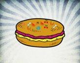 Dibujo Macaron pintado por laupa