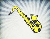Saxofón tenor