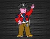 Un polícia
