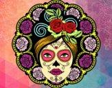 Dibujo Calavera mejicana femenina pintado por 1lindapao