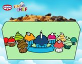 Dr Oetker Junior Chef Molde cupcakes