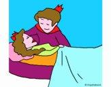 La princesa durmiente y el príncipe