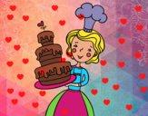 Tarta de cumpleaños casera
