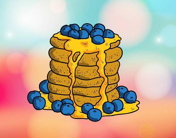 Dibujo Tortitas pintado por mirperla
