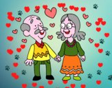 Abuelos amorosos