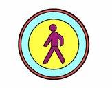 Entrada prohibida a los peatones