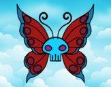 Dibujo Mariposa Emo pintado por TitaOvalle