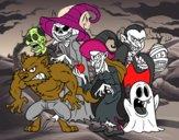 Monstruos de Halloween