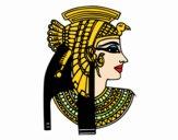Perfil de Cleopatra