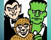 Personajes Halloween