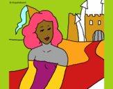 Princesa y castillo