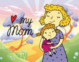 Dibujo Quiero a mi mamá pintado por anahis573