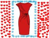 Dibujo Vestido elegante pintado por Biankilove