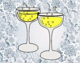 Dibujo Copas de champán pintado por natinatash