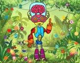 Robot cerebrito