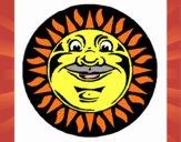 Sol grabado