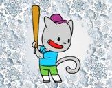 Gato bateador