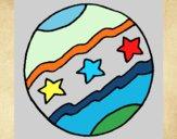 Dibujo Pelota grande pintado por Ramon45