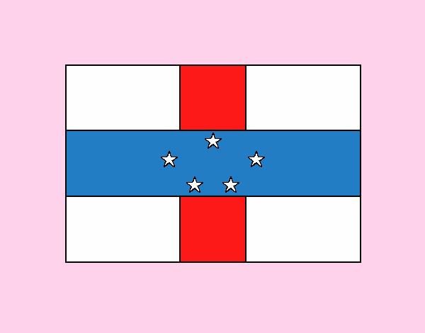 Dibujo Antillas Neerlandesas pintado por vale26