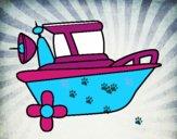 Barco a motor
