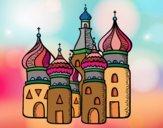 Dibujo Catedral de San Basilio de Moscú pintado por Ramon45
