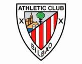 Dibujo Escudo del Athletic Club de Bilbao pintado por wuilde