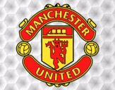 Dibujo Escudo del Manchester United pintado por wuilde