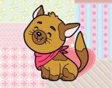 Dibujo Gato con bandana pintado por CeceDrake