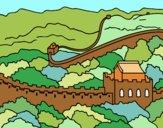 Dibujo La Gran Muralla China pintado por Ramon45