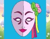 Dibujo Máscara italiana pintado por Amalia0201